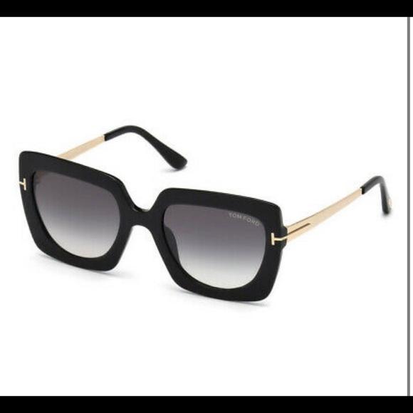 Tom Ford Jasmine 02FT0610 Geometric Sunglasses NWT